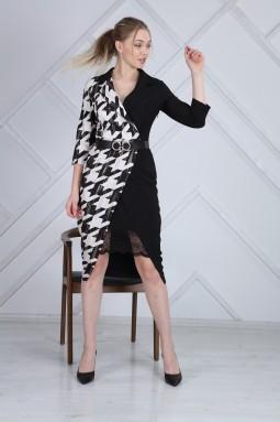 Lace Crowbar Pattern Dress