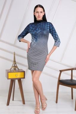 Blue Crowbar Dress