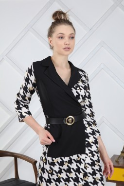 Crowbar Pattern Dress